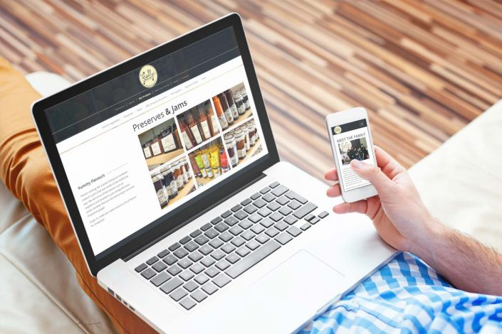 Gallys Farm Shop WordPress Web Design